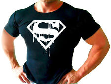 SUPER MAN GYM BODYBUILDING MENS New  T-shirt