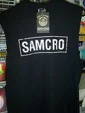SONS OF ANARCHY SAMCRO MUSCLE SHIRT NEW !