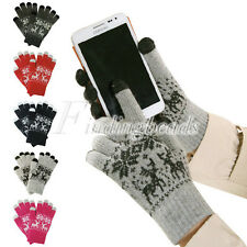 Touch Screen Warm Winter For Snow Gloves CapacitiveMobile Deer Phone/Ipads