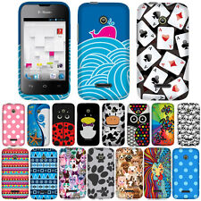 For Huawei U8686 Prism 2 II Inspira H867G Case Accessory Hard Cover Cow Turtle