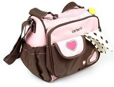 Free Shipping Small Carter's Multifunctional Baby Diaper Nappy Changing Bags