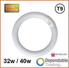 BRITE SOURCE 4 PIN CIRCULAR MAGNIFIER LAMP T9 FLUORESCENT TUBE In 32w or 40w