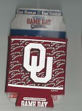 Oklahoma Sooners OU Drink Koozies Camo Camouflage or Logo Style Drink Coolie
