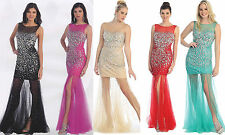 5 COLOR Sexy Short, Long Ball Gown Dress Party Gala Prom Evening Pageant 4 - 16