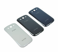 Genuine Samsung Galaxy S3 III i9300 Battery Door/Back Cover-White/Gray/Blue