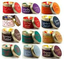 Lily Flame Scented Candle Tin Various Fragrances FREE POSTAGE Multi Listing