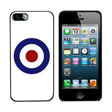 MOD Scooter 60's RAF cover case for iPhone 5s phone Hard & TPU Gel 5S