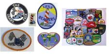 Lot of 4 Identical Award Patches SELECT YOUR DESIGN!