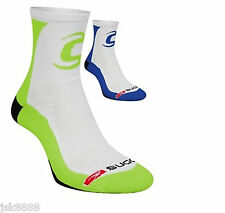 CYCLING BIKE COOLMAX SOCKS TEAM LIQUIGAS SIZE S/M MADE IN ITALY BY SUGOI NEW