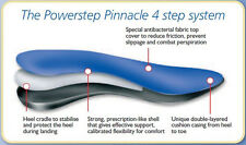 PowerStep Pinnacle Orthotic Arch Supports  ALL SIZES!!