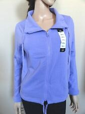 NWT Central Park Full Zip Up Athletic Performance Women's Jacket - S M LAVENDER