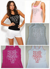 Brand NEW Quality GENUINE Lorna Jane Pretty Never Give Up Tank Singlet Top
