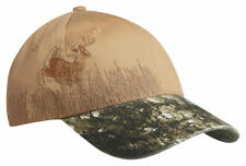 Port Authority Embroidered Structured Hook Loop Closure Camouflage Cap. C820