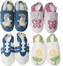 NEW SOFT LEATHER BABY BOY & GIRL SHOES 0-6, 6-12, 12-18, 18-24 MONTHS