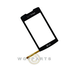 Digitizer for LG VX11000 enV Touch Black Front Glass Touch Screen Window Panel