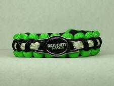 Call of Duty MW3 Paracord Survival Bracelet with CHARM