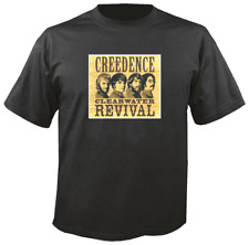 Tee Shirt New Unisex featuring image of CREEDENCE CLEARWATER REVIVAL t-shirt