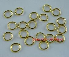Gold Plated Jump Rings More Sizes Findings R51-R79