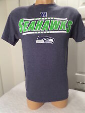"4815 MENS SEATTLE SEAHAWKS ""NEON LOGO"" Football Jersey Shirt New BLUE"