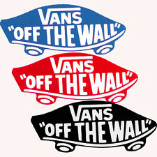 VANS Off The Wall - Sticker - Skateboard Snowboard BMX Surf - Assorted colours