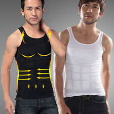 Men Male Slim Body Shaper Belly Fatty Underwear Vest Shirt Corset Compression