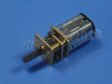 New DC3V 6V 12V N20 Micro Speed Reduction Gear DC Motor with Metal Gearbox Wheel