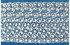 "VICTORAIN VENISE LACE 5"" PASLEY EDGE BRIDAL FABRIC"" BY THE YARD""  LINGERIE #2457"