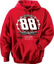 2014 DALE EARNHARDT JR #88 NATIONAL GUARD RED HOODED SWEATSHIRT