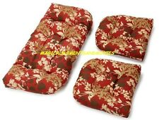 REPLACEMENT CUSHIONS FOR INDOOR OUTDOOR RESIN WICKER FURNITURE *NEW LOWER PRICE*