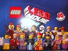 Lego Minifigures Series 12 LEGO MOVIE Choose your mini figures NEW in packet!