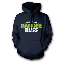 DANGER RUSS RUSSELL WILSON SEATTLE SEAHAWKS 12TH MAN CHAMPIONS FAN HOODIE HOODY
