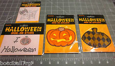 HALLOWEEN IRON ON APPLIQUE SELECTION BY SIMPLICITY : PUMPKINS, SPIDERWEBS,MORE