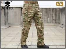 EMERSON Military Tactical Series Paintball Hunting BDU Multicam Combat G3 Pants