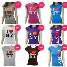 Ladies I Love NY Tee -  Official From New York City - With Tags Womens t-shirt