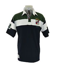 Ireland Navy Crest 1/2 Sleeve Rugby Shirt (S-XXL) New for 2014