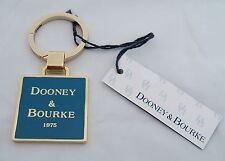 Dooney & Bourke Enamel Metal Keychain FOB New