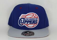 Los Angeles Clippers Mitchell & Ness Hi Crown Blue/Grey Fitted Hat