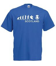 SCOTLAND RUGBY funny present NEW Boys Girls Kids size T SHIRT TOP Age 1-15 Years