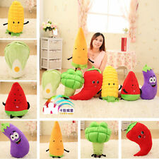 Plush toy stuffed doll Broccoli Carrot Watermelon Fruit vegetable baby gift 1pc
