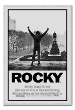 Framed Rocky 1 Movie Poster Ready To Hang - Choice Of Frame Colours