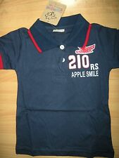 2014 new arrival100%cotton boy fly eagle pattern casual children polo shirt