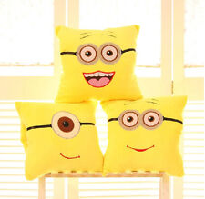 Plush toy gift doll Despicable Me Minions soybean Pillow Hand warmer blanket 1pc