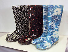 Ladies / Girls Rain Boots For Rain, Mud, Or Snow  ~ Assorted Sizes/Patterns NEW