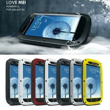 Love Mei Aluminum Metal Shock/Water Proof Case Cover for Samsung Galaxy S3 i9300
