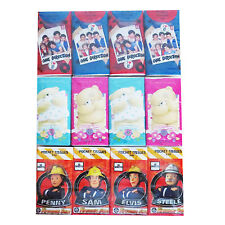 8 x 10pc Pack Pocket Tissues One1Direction,Fireman Sam,Forever Friends,Minions..