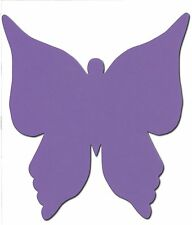 6 Die cut Extra Large butterfly accucut placemat 20.5 x 22.5cm table plan craft