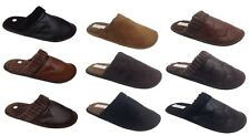 Mens Cool Warm Flat Microsoft Slippers Slip On Mule Clogs Shoes Sizes UK 7-13