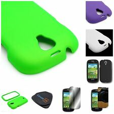 For Samsung GALAXY STRATOSPHERE 2 i415 Hard Rubberized Matte Cover Case
