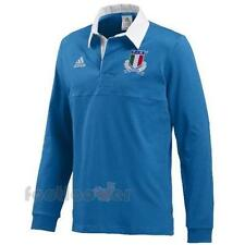 Men's Adidas FIR CUL JERSEY LS W68889 Polo Long Sleeve Italy Italia Rugby