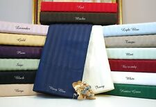 Luxury 300 Thread Count Extra Long Staple Egyptian Cotton Pillow Cases - Stripe
